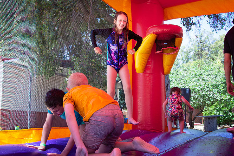 Dare Adventures Family Fun Days Bouncy Castle