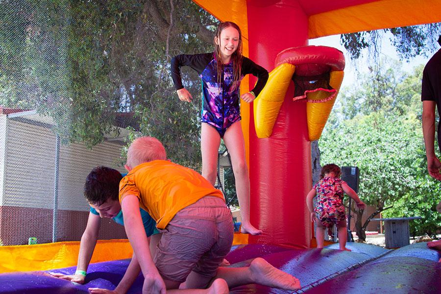 Dare Adventures Family Fun Days Bouncy Castle