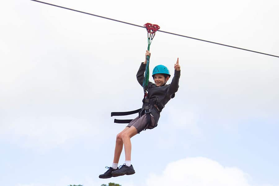 Dare Adventures Family Fun Days Flying Fox (4)