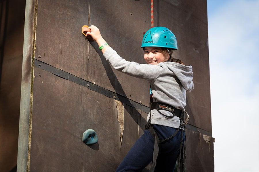Dare Adventures Family Fun Days Rock Climbing