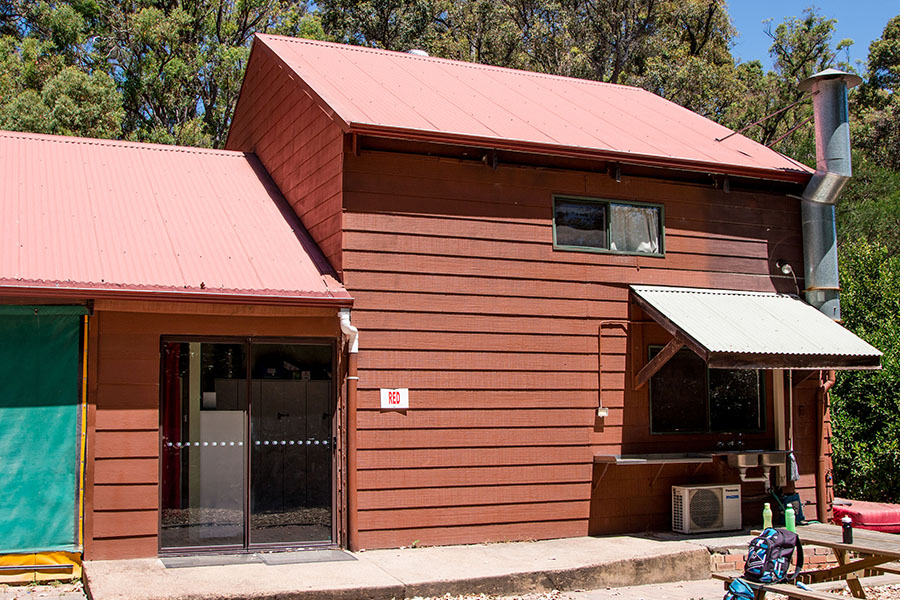Red Bunkhouse Dare Adventures