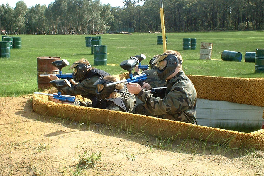 Dare Adventures Paintballing
