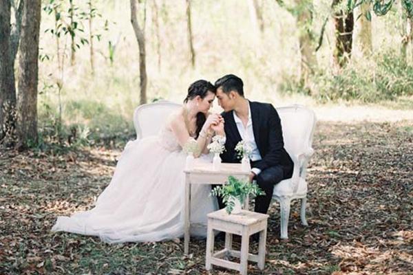 Wedding Bush Setting